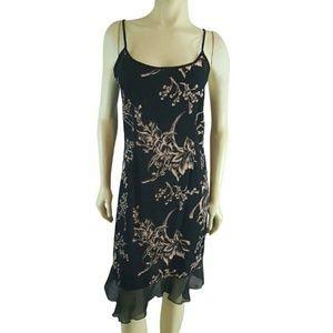 Loco Linda Floral Slip Dress